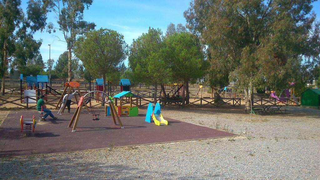 Parque infantil y preescolar. Fuente: Propia.