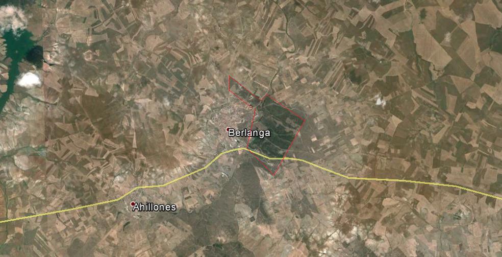 Fig 1: Situación. Fuente: Google Maps.