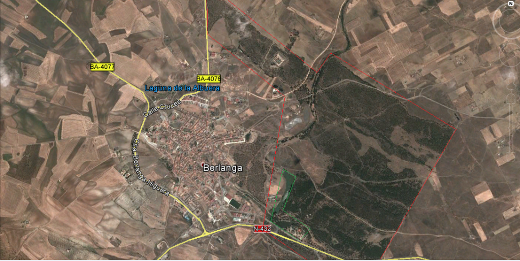 Fig 2: Situación. Fuente: Google Maps.