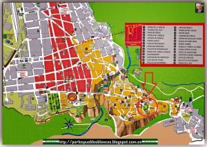 Fig. 1 Mapa de Ronda. Fuente: porlospueblosblancos.blogspot.com