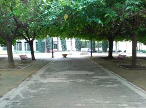 Fig. 14. Jardín de la historia. Fuente: propia.