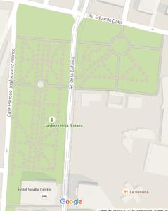 Fig.20: Distribución de caminos. Fuente: Google maps.