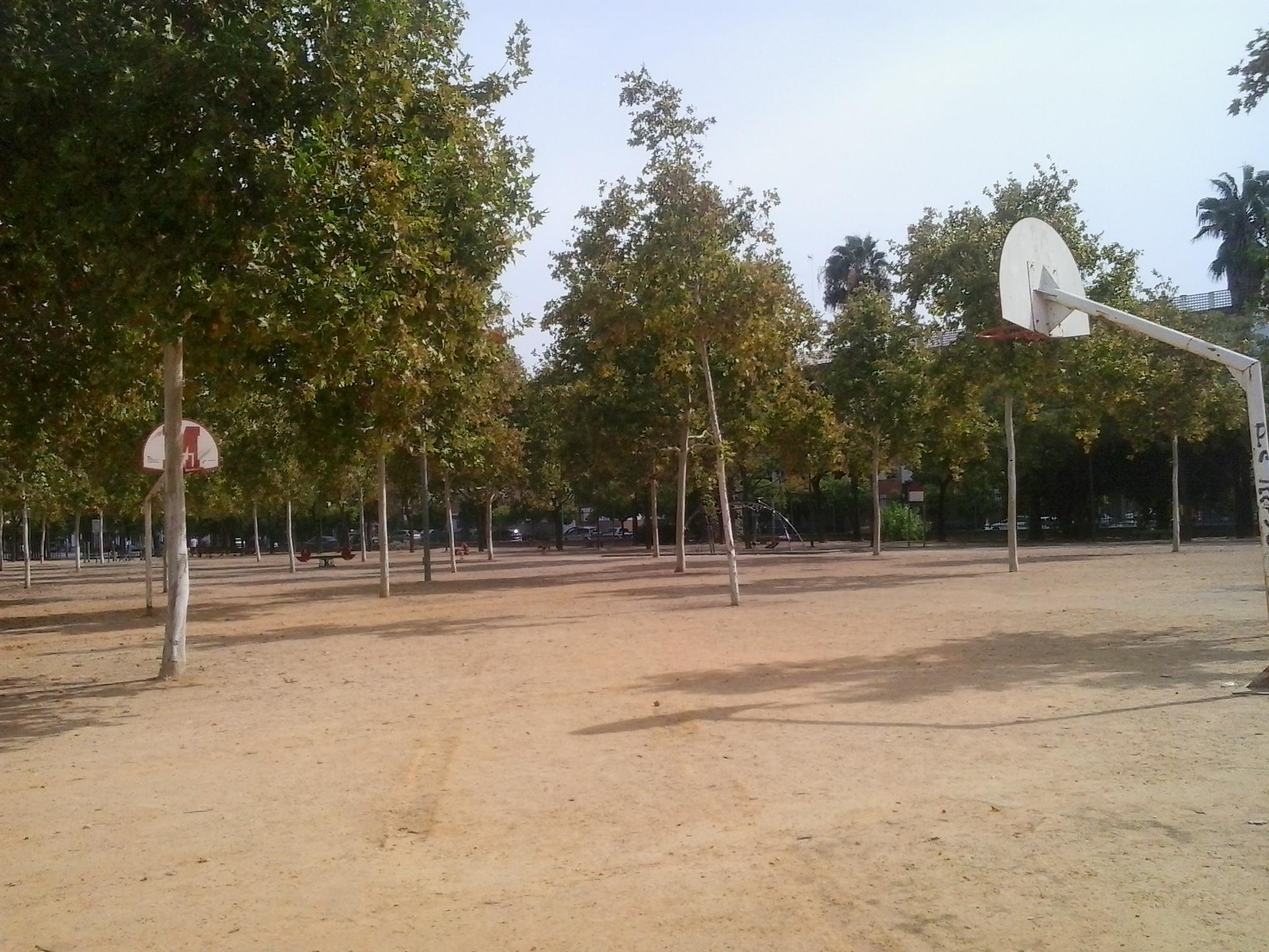 Imagen 2. Canchas de baloncesto. Fuente: Elaboración Propia