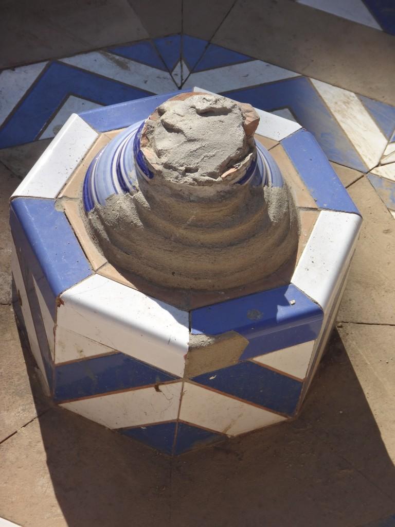 Imagen 17: Fuente de la glorieta José García Ramos