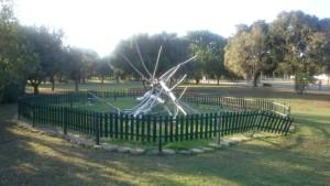 Ilustración 8. Cerramiento de árbol caído.
