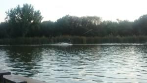 Ilustración 3. Actividad deportiva en el lago.