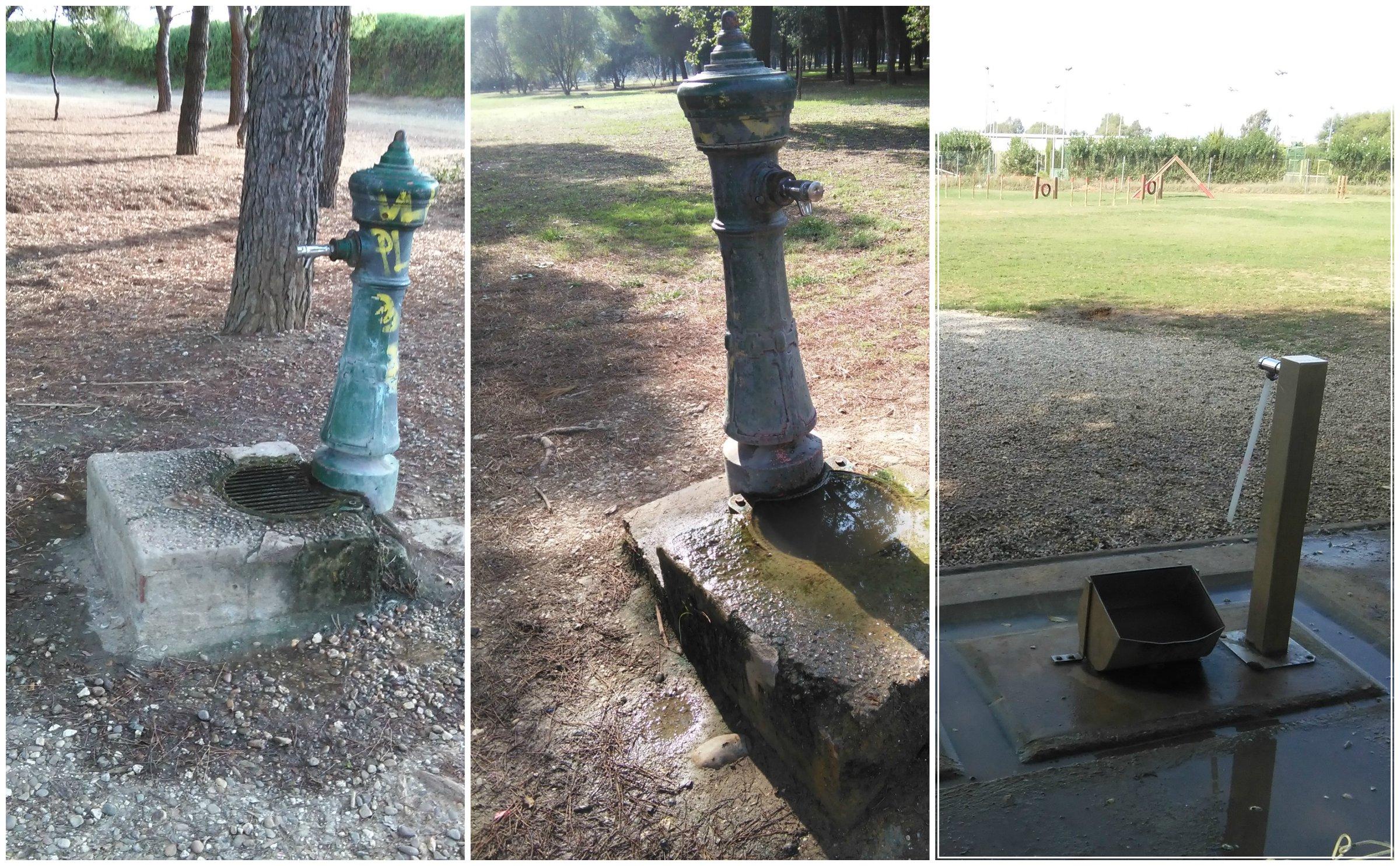 Fig. 27- Fuentes del parque. Fuente: propia.
