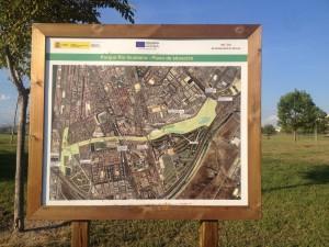 Foto 1. Mapa parque. Fuente: Elaboración propia.