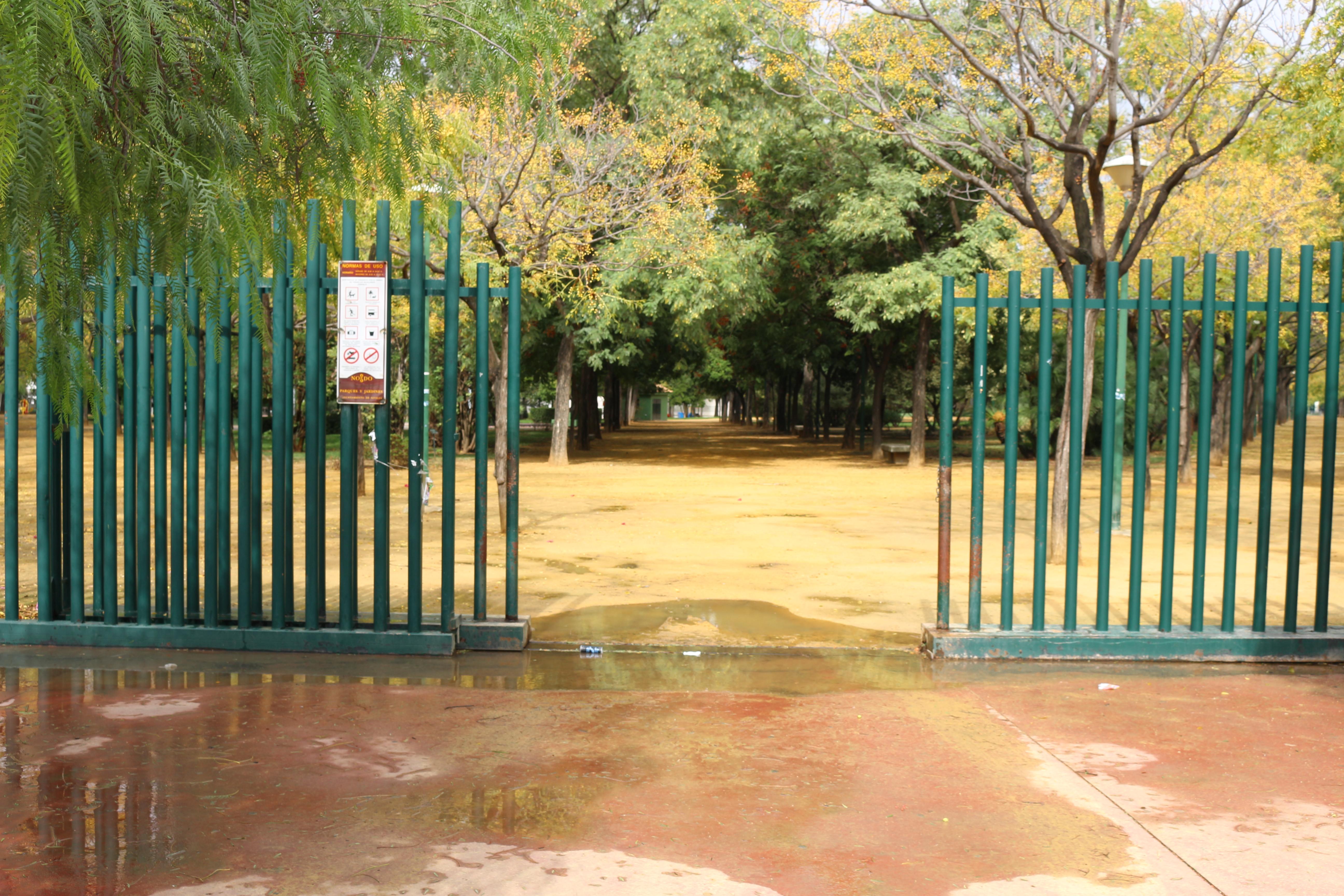 Imagen 1. Acceso sur del parque. Fuente: Elaboración propia.