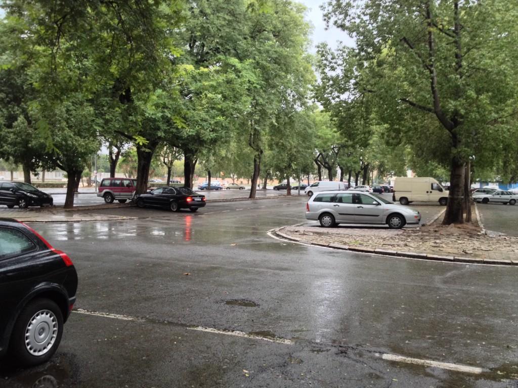 Ilustración 31: Parking del parque