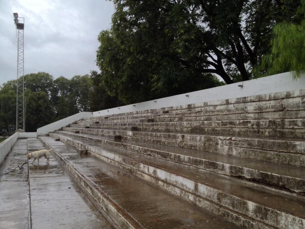 Ilustración 21: Gradas del anfiteatro