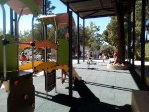 Imag 20: Zona de juegos infantiles (antiguo palomar). Fuente: propia