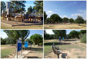 Imagen 30.- Zonas recreativas a lo largo de las 96 ha de parque. Fuente: José Manuel Algeciras Muñoz.