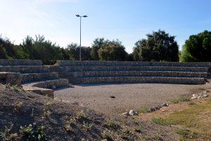 Imagen 9.- Anfiteatro romano. Fuente: José Manuel Algeciras Muñoz.