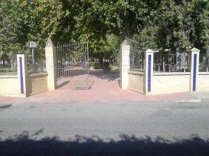 Acceso calle Hermanos Pinzón. Fuente: Propia