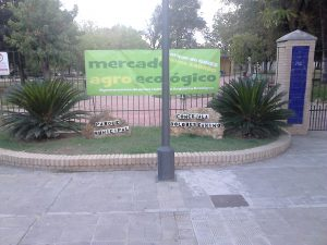 Imagen 2. Entrada parque. Fuente: propia