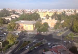 Imagen 10. Pabellón de Brasil, concedido a la Universidad de Sevilla.