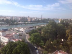 Imagen 12.El Guadalquivir, entorno de la zona oeste del Parque.