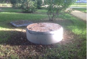 Imagen 25. Pozo donde se administra el agua de riego.