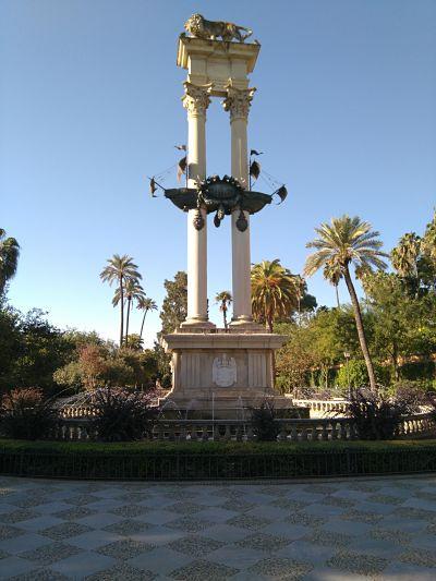 Fig. 2: Monumento a Colón. Fuente: propia