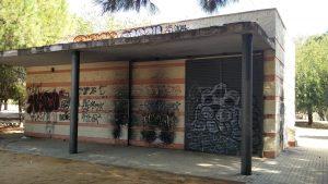 Imgane 28. Grafiti en una caseta