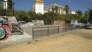Imagen 27. Pista de skate