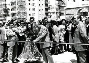 Imagen 3. Inauguración Parque de los príncipes. Fuente: abc