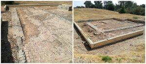 Imagen 20.- Restos arqueológicos romanos. Fuente: Propia.