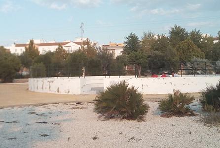 Imagen 3. Imagen del anfiteatro del parque de Los Hermanamientos. Fuente: Propia.