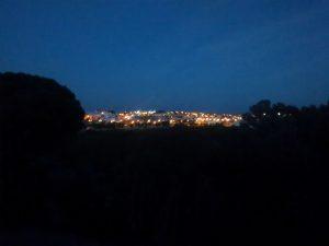 Fig 20. Vista nocturna desde hotel. Fuente: RPDL