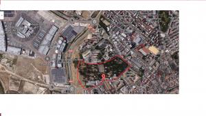 Imagen 1: Emplazamiento del zoobotánico. Fuente 1: Google Maps.