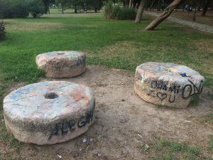 Imagen 12. Piedras de molino. Fuente: propia.