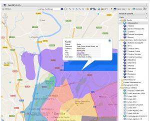 Imagen 26. Mapa de distritos sacado de la página del ayuntamiento de Sevilla: http://www.sevilla.org/ciudad/sig