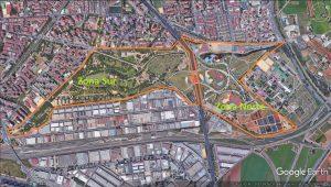 Imagen 2. Zonas principales del parque Miraflores