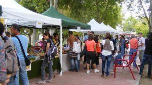 Mercado Agro-Ecológico. Fuente: ABC de Sevilla