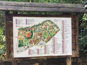 Imagen 2: Plano del zoobotánico. Fuente: A menos que se indique lo contrario, la fuente de las imágenes es fuente propia.