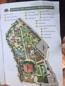 Imagen 3: Plano de los árboles singulares del zoobotánico.